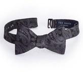Ted Baker Men's Midnight Paisley Silk Bow Tie