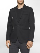 Calvin Klein One Slim Fit Side Zip Jacket