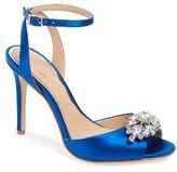 Women's Jewel Badgley Mischka Hayden Embellished Ankle Strap Sandal