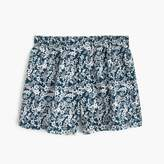 Floral Print Boxers In Navy