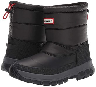Hunter Insulated Snow Boot Short (Black) Women's Rain Boots