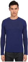 Vince Sporty Jaspe Thermal Crew Neck