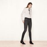 Maje Slim jeans with velvet belt