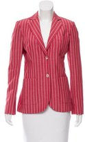 Loro Piana Striped Linen-Blend Jacket