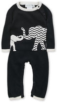 Lucky Jade Newborn/Infant Boys) Elephant Romper