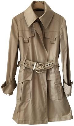 Gucci Khaki Cotton Trench Coat for Women