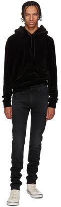 Saint Laurent Black Skinny Low Waisted Jeans