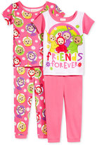 Teletubbies 4-Pc. Friends Forever Cotton Pajama Set, Toddler Girls (2T-5T)