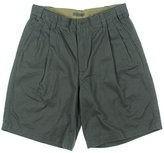 Geoffrey Beene Men's Washed Twill Pleated Short