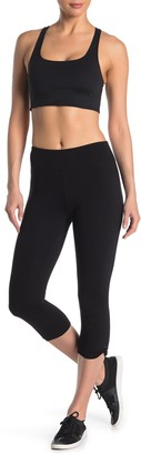 Andrew Marc Cropped Cotton Spandex Leggings