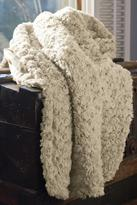 Petals Faux-Fur Throw