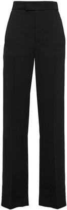 Joseph Ferry Satin-crepe Straight-leg Pants