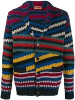 Missoni striped pattern cardigan