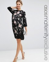 Asos Embroidered Shift Dress