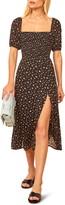 Reformation Meadow Floral Print Midi Dress