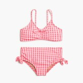 J.Crew Girls' gingham bikini