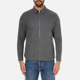 Edwin Men's Industry Zip Shirt Grey Marl