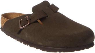 Birkenstock Boston Soft Footbed Suede Leather Clog