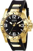 Invicta Men's 6255 Reserve Collection 18k Gold-Plated and Rubber Watch