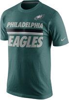 Nike Men's Philadelphia Eagles Team Stripe T-Shirt