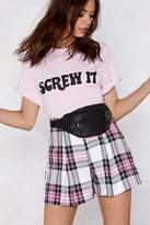 Nasty Gal Check Out the Competition Shorts