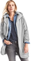 Gap French terry hooded cardigan