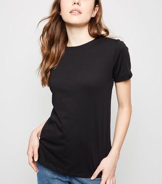New Look Organic Cotton Roll Sleeve T-Shirt