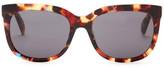 Diesel Women's Retro Plastic Frame Sunglasses