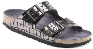 Birkenstock Arizona Mf Gator Gleam Black - 36 (UK 3)