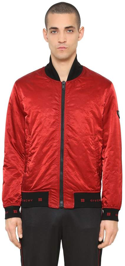 Givenchy Nylon Bomber Jacket
