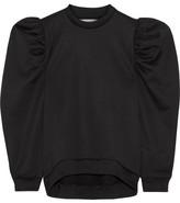 Marques Almeida Marques' Almeida - Oversized Cotton-blend Jersey Sweatshirt - Black