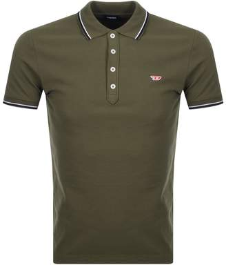 Diesel T Randy Polo T Shirt Green