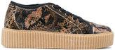 MM6 MAISON MARGIELA Camouflage print platform sneakers