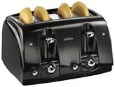 Sunbeam 4-Slice Extra-Wide Slot Toaster, Black, TSSBTR4SBK