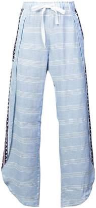Lemlem Ribani slit side beach trousers