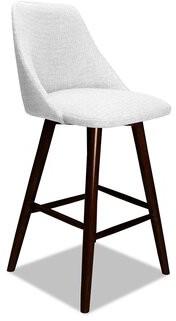 "Corrigan Studioâ® Searcy Bar & Counter Swivel Stool Corrigan StudioA Color: White, Seat Height: Bar Stool (30"" Seat Height)"