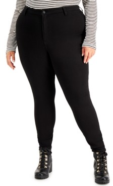 Dollhouse Trendy Plus Size High-Rise Curvy Skinny Ankle Jeans
