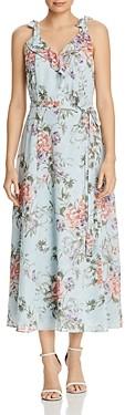 Nanette Lepore nanette Tie-Shoulder Floral Dress