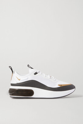 Nike Air Max Dia Icon Clash Rubber-trimmed Ripstop Sneakers - White