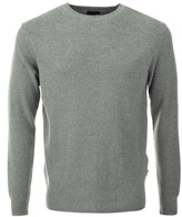 Barbour Irwin Crew Neck Knit Jumper Grey