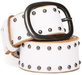 Topshop Leather Studded Belt