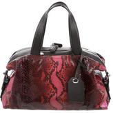Reed Krakoff Iridescent Snakeskin Bowling Bag