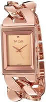 SO&CO New York Women's 'SoHo' Quartz Metal and Stainless Steel Dress Watch, Color:Rose Gold-Toned (Model: 5094.3)