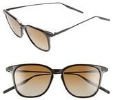 Salt Men's 'Ridgeway' 51Mm Polarized Sunglasses - Black Tortoise/ Brown