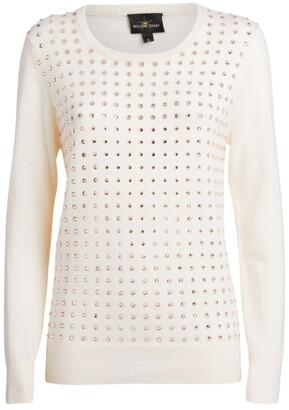 William Sharp Gem-Embellished Sweater