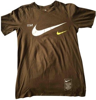 Nike Brown Cotton Top for Women