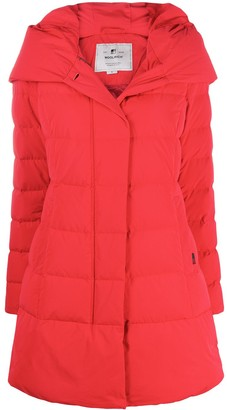 Woolrich Zipped Padded Coat