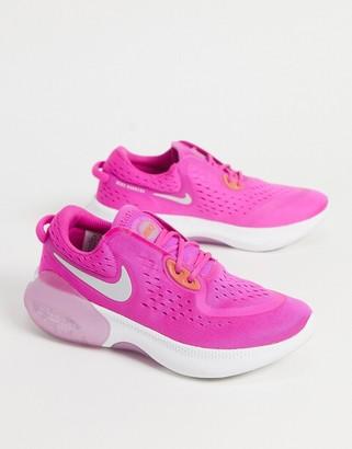 Nike Running Joyride Dual sneakers in bright pink