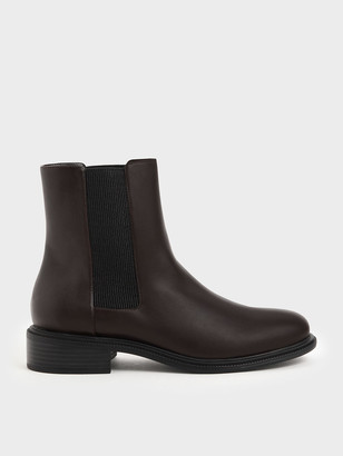 Charles & Keith Classic Chelsea Boots