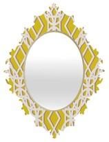 DENY Designs Diamonds Baroque Mirror